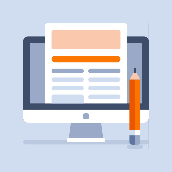 Logo 8 idées d'articles pour le blog de votre boutique en ligne
