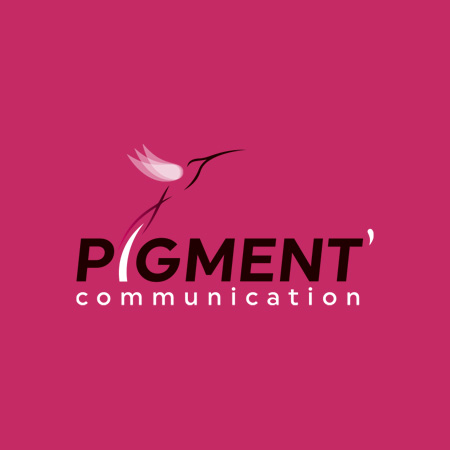 Logo Pigment Communication
