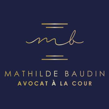 Logo Avocat Mathilde Baudin